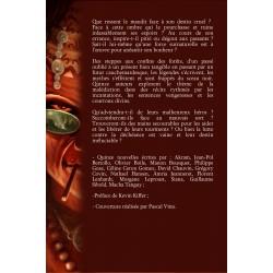 Quatrième de couverture de l'anthologie Malédiction
