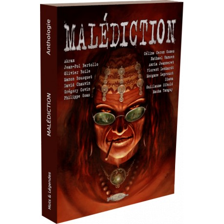 Couverture de l'anthologie Malédiction