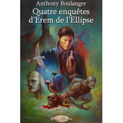 "Couverture de l'ebook ""Quatre enquêtes d'Erem de l'Ellipse"""